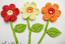 Crochet: Flowers / by Polly Wickstrom