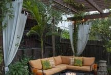 Outdoor living / by Judy Karm