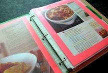 Recipe & Home Binders / Recipe Binders / Household Binders / Paper Organization / DIY Recipe Books / by Leonardo Da Poochie