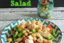 WF/R - Mason Jar Salads / by Angie Attaguile
