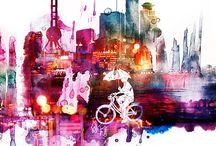 My ETSY Art  |  p r I n t s / by Yeoh Gh