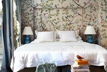 Mastering the Bedroom / Ideas for creating a gorgeous master bedroom / by Julie Harrison