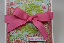 Miss You Cards / by Sherry Larson