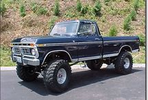 Ford Trucks / by Jacob Cossairt