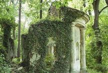Follies: Small Scale Architectural Fantasies / The small but grand architectural statement - My house is a folly / by Birdieart