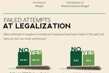 Infographs About Marijuana / informational graphs. / by Dank Tank