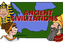 Homeschool History; Ancient History & Mythology / Units on Mythology. Included units on Ancient Greece, Rome, and Egypt. Studies on Vikings and Aztecs / by Andrea Gardner