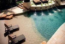Patio and poolside  / Were talking luxury  / by Courteneay Decker