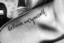 Tattoos / by Christina Hessling