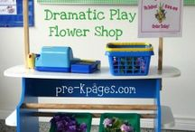 Dramatics Ideas / Toddler and preschool dramatic play ideas. / by Sheryl @ Teaching 2 and 3 Year Olds