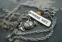 """I <3 my Marine"" / by Brittany Potter"