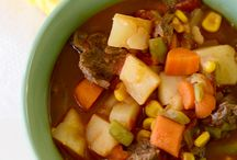 Soups and Stews / Warmth for the soul! / by Anna Chaput