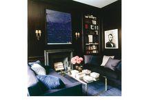 Office/Library / by Jodi Mellin Interior Design