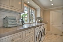 Heart & Home - Laundry Room / by Rose