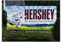 Memo: Travel--Hershey, PA The Sweetest Place on Earth / All things #Hershey, PA; the #sweetest place on earth #travel #candy / by Julee Morrison