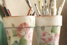 Decoupage / by Nati's Little Things