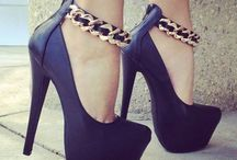 Shoes Galore! / The best collection of high heels ever! / by Elijah Blaine