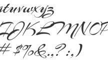 Free fonts I use / by Ania Kozlowska-Archer