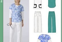 1 scrub tops and patterns / by Elle C