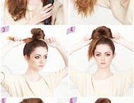 Hair, hair and more hair! / by Kelli White