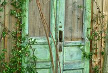 Old doors... / by Halfway There
