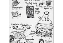 Pugmania & Frenchie love / Love of all pugs & french bulldogs  / by Megan Cole