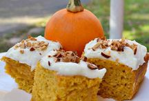 PUMPKIN RECIPES / by Brenda Veeder