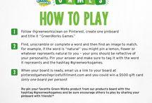 GreenWorks Games / by Susan Williams