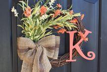wreaths / by Brittany Walker