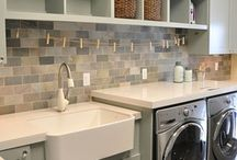 Laundry rooms and mud rooms / by Erika Saeppa Lovingfoss