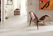 Wood Look Tile / Hand scraped wood look tile floors for living room, kitchen, bedroom or bathroom.  / by Tukasa Creations - Carpet, Tile and Hardwood Floors