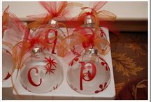 holiday decoraitons / by Allison Meek