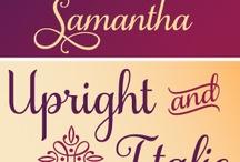 Fonts We Likey / by Anita Grant Natural Cosmetics