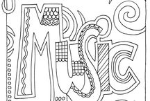 Coloring Pages / by Marcy Rodriguez