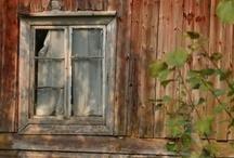 Old windows  / by Sharon Johnson