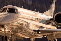 FLYING PRIVATE • Luxurious JETS / by Ms. Intriguing