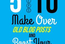 Blogging Tips and Tricks / by Kathy kissingthefrog