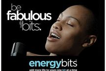 Move To Your Beat With BITS™ / ENERGYbits® is taking on the music scene one beat at a time. Let's turn up the volume! / by ENERGYbits