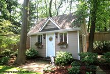 Tiny Cottage / Tiny Cottage Ideas - Converting a Workshop to a Cottage / by Jim Alvey