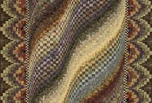 Bargello / Hand made embroidery / by Macan Rosabal