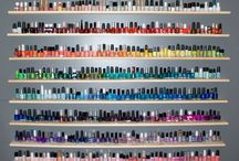 Nail Polish & Makeup Storage  / by The BeautyClutch