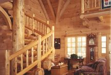 Log Home Plans / Those who love log house designs really love them, and it's easy to see why. These homes are unlike any other when it comes to the amount of charm they exude. They allow the homeowners to live with modern conveniences, while being surrounded in rustic style charm. / by House Plans and More