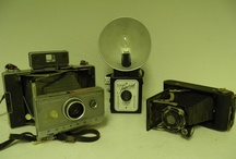 Old Cameras/all kinds of different cameras / I enjoy Photography and just start collecting old cameras. I was amazed at just how much some of these are worth! / by Weldon Kilpatrick