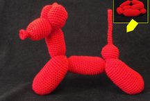 Knit/Crochet Ballon Animals / by Cora Shaw