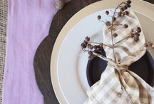 Party Ideas   Table setting / by Rafaela Loncan