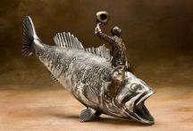 I love to fish & hunt / by Danikka Marks Wolfe
