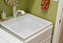 laundry room ideas / by Wendy Moeller