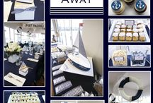 Nautical Party / For Kai Mykonos' Christening! / by Kimimay
