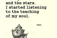 Rumi Quotes / Full of #quotes by Rumi! #rumi #rumiquotes / by Amy Leigh Mercree