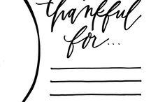 Thanksgiving - All the Extras / by Rachel Wormhoudt-Butler